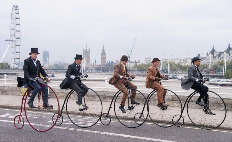 penny farthings waterloo bridge