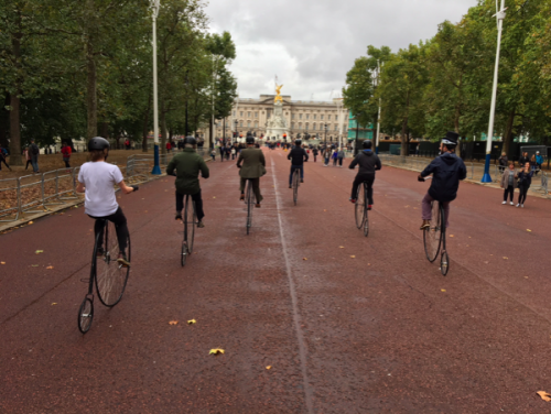 penny farthings buckingham palace london