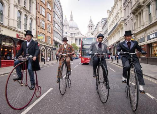 penny farthings st pauls london