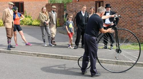 penny farthing instruction
