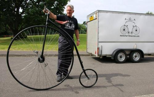 penny farthing trailer