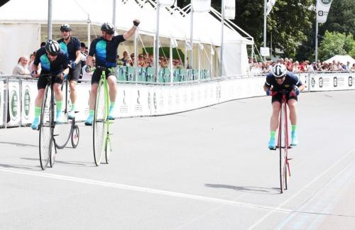 Penny Farthing British 1 hr Record