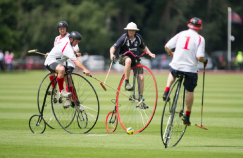 penny farthing polo cowdray park