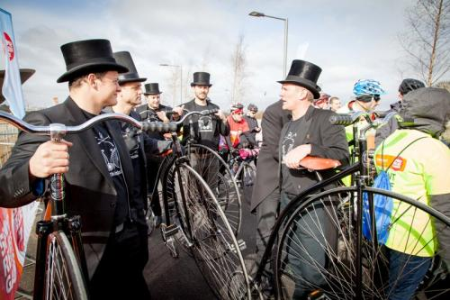 Penny Farthing Victorian Challenge