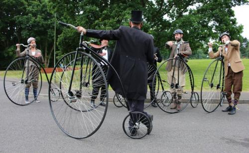 penny farthing lessons