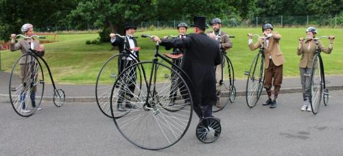 penny farthing rider group